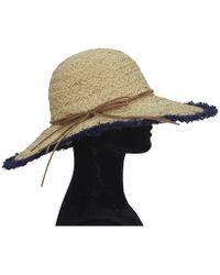 La Fiorentina Straw Hat - Lyst