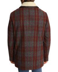 MELINDAGLOSS Mg Grey Wool Sheepskin Jacket - Lyst