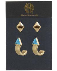 House of Harlow 1960 | Telluride Earring Set | Lyst