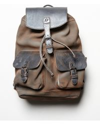 Free People Distressed Logan Backpack - Lyst