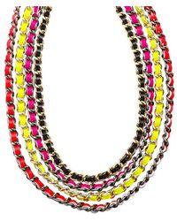 CC SKYE - Multi Chain Necklace - Lyst