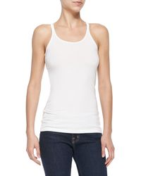 T By Alexander Wang Scoop-neck Cami Tank  - Lyst