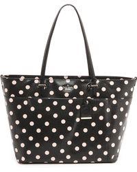 Kate Spade Francis Baby Bag  Blackdeco Beige - Lyst