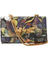 Valentino Camo Butterfly Flap Bag - Lyst