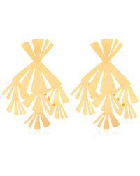 Herve Van Der Straeten | Éventail Earrings | Lyst