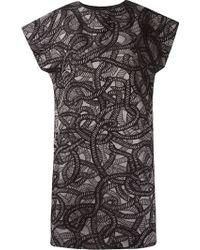 Fernanda Yamamoto - Jacquard Dress - Lyst