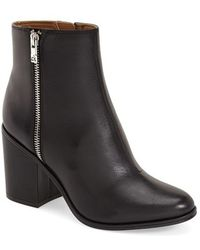 CALVIN KLEIN 205W39NYC - Cilil Leather Ankle Boots - Lyst