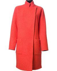 Emanuel Ungaro Oversized Coat - Lyst