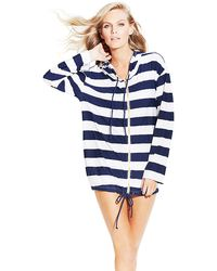 Vince Camuto Nautical Cover Up - Lyst