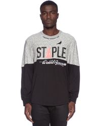 Staple Force Ls Tee - Lyst