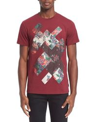 Marc Jacobs - Floral Patchwork Graphic T-shirt - Lyst
