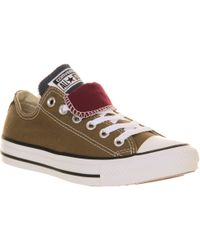 Converse Allstar Low Double Tongue - Lyst