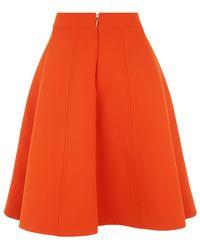 McQ by Alexander McQueen Zip Pocket A-Line Skirt - Lyst