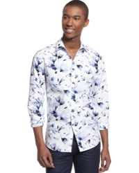Inc International Concepts Long Sleeve Xray Shirt - Lyst