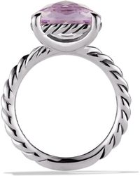 David Yurman Color Classics Ring with Lavender Amethyst - Lyst
