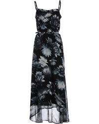 French Connection Long Dress - Lyst