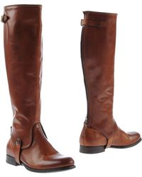 NDC Brown Ankle Boots - Lyst