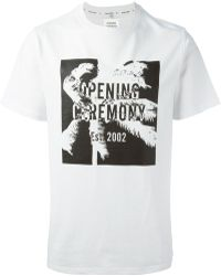 Opening Ceremony Printed T-Shirt - Lyst