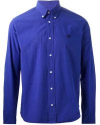 Kenzo 'Tiger' Button Down Shirt - Lyst