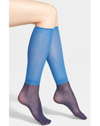 Wolford 'Colora' Socks - Lyst