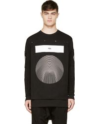 Hood By Air Black and White Removable_patch Shirt - Lyst