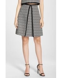 ERIN Erin Fetherston - 'Margeaux' Jacquard A-Line Skirt - Lyst