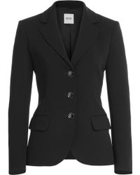 Moschino Cheap & Chic Tailored Crepe Blazer - Lyst
