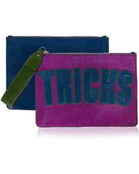 House of Holland Bag Of Tricks Pink & Blue - Lyst