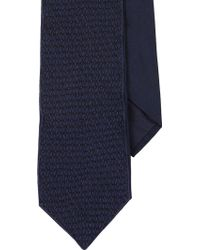 Jupe Embroidered Silk Neck Tie - Lyst