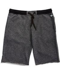 DKNY Knit Shorts black - Lyst