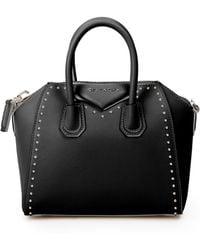 Givenchy   Antigona Mini Studded Leather Satchel   Lyst