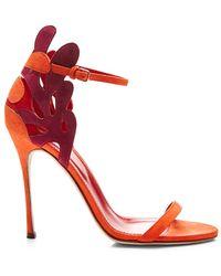 Sergio Rossi Matisse Suede Sandal - Lyst