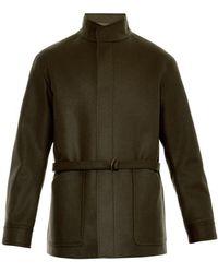 Cerruti 1881 Paris Felted-Wool Coat - Lyst