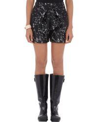 Balenciaga Terrazzo Jacquard Shorts - Lyst