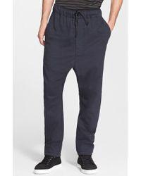 Rag & Bone 'Thomas' Drop Crotch Jersey Pants - Lyst