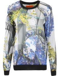 Clover Canyon - Multicoloured Garden Print Sweatshirt - Lyst