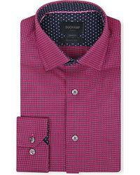 Duchamp Chequer-Pattern Tailored Shirt - For Men - Lyst