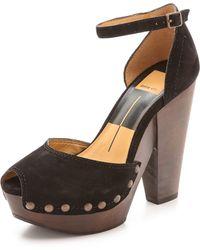 Dolce Vita Huxley Platform Sandals Natural - Lyst