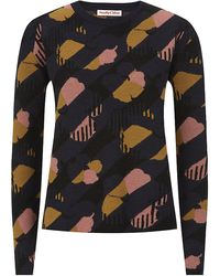 See By Chloé Floral Jacquard Sweater - Lyst