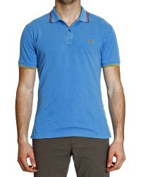 Fred Perry Tshirt Polo Piquet Ligth Short Sleeve Slim Delavatilde - Lyst