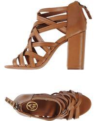 Ash Brown Sandals - Lyst