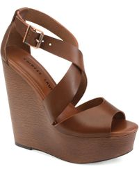 Chinese Laundry Java Platform Wedge Sandals - Lyst