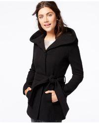 CoffeeShop - Hooded Fleece Coat - Lyst