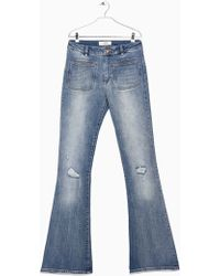 Mango Flared Newflare Jeans - Lyst