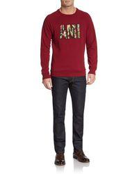 Ami Purple Sweatshirt - Lyst