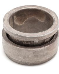 Parts Of Four Silver Rotator Ring - Lyst