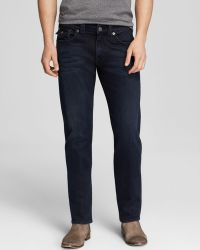 True Religion Jeans Geno Slim Straight in Rolling Water - Lyst