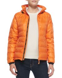 Canada Goose Camp Hooded Puffer Jacket - Lyst