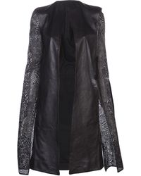 Gareth Pugh Normal Sleeve Coat - Lyst