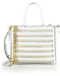 Moschino Logo Charms Tote - Lyst